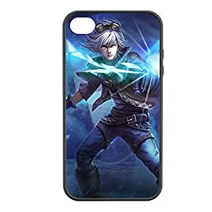 Ezreal-002 League of Legends LoL case cover for Apple iPhone 4 / 4S - Rubber Black