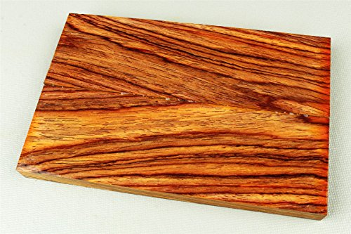 Cocobolo Knife Scales, Gun Grips, Crafting Wood, 3/8