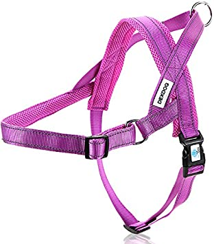 - Easy Quicker Step in Dog Harness Vest Puppy No Pull Reflective Mesh Handle Adjustable Training Black Medium M EZHarness On//Off Walk in Seconds! DEXDOG #1 Best Dog Harness