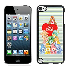 Unique iPod 5 Case,Care Bears Black Phone Case For iPod Touch 5 Cover Case