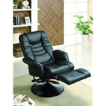 Coaster Home Furnishings 600229 Recliners Casual Leatherette Swivel Recliner Black  sc 1 st  Amazon.com & Amazon.com: Coaster Home Furnishings 600229 Recliners Casual ... islam-shia.org