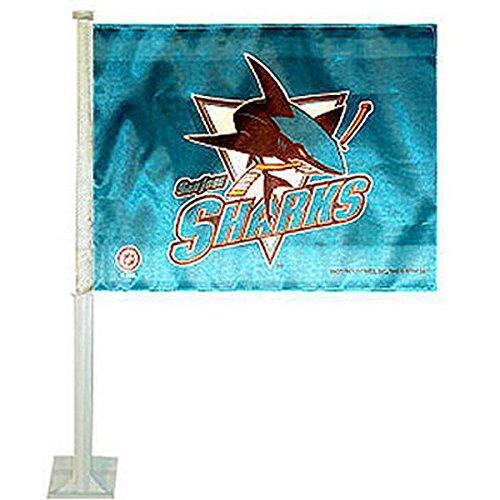 (Rico Industries NHL San Jose Sharks Car Flag)