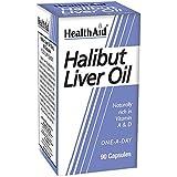 Health Aid Halibut Liver Oil 90 Capsules