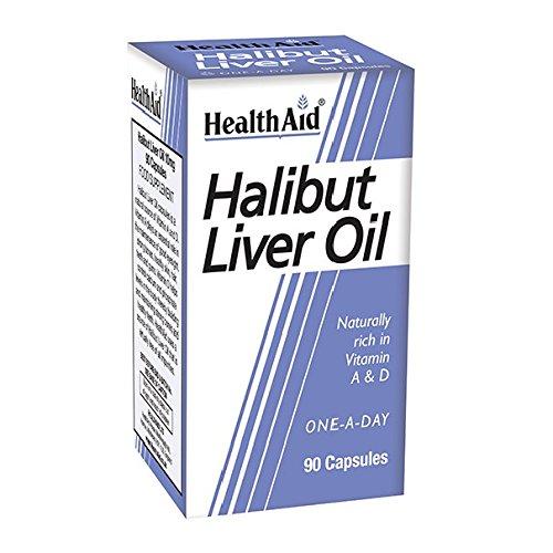 Health Aid Halibut Liver Oil 90 Capsules For Sale
