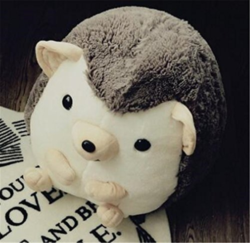 Tmrow 1pc 30cm Children Simulation Animal Plush Toy Hedgehog Stuffed Dolls (Gray) by Tmrow (Image #1)'