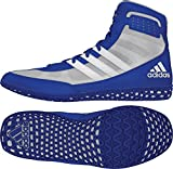 Kyпить adidas Mat Wizard Mens Wrestling Shoes, Royal/White/Grey, Size 11.5 на Amazon.com