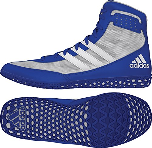 Adidas Mat Wizard Mens Wrestling Shoes, Royal/White/Grey,...