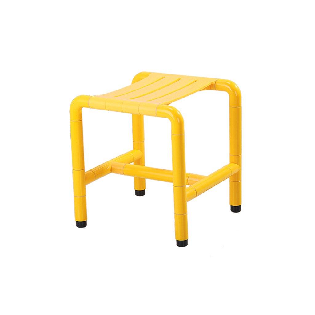 高齢者のためのシャワースツール滑り止めセーフティバススツールスツールスツールバスルームスツールトイレバスルームスツール (色 : イエロー いえろ゜, サイズ さいず : A) B07DFF3SZW A|イエロー いえろ゜ イエロー いえろ゜ A