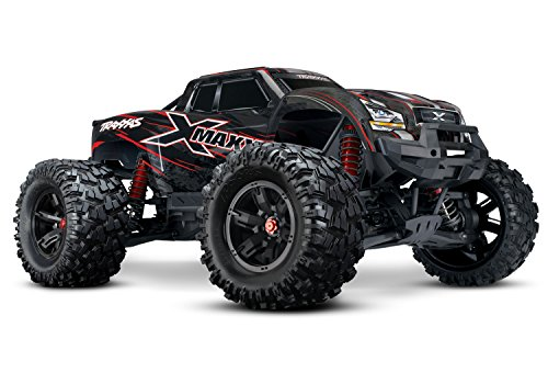 Traxxas 8S X-Maxx 4WD Brushless Electric Monster RTR Truck, Red from Traxxas