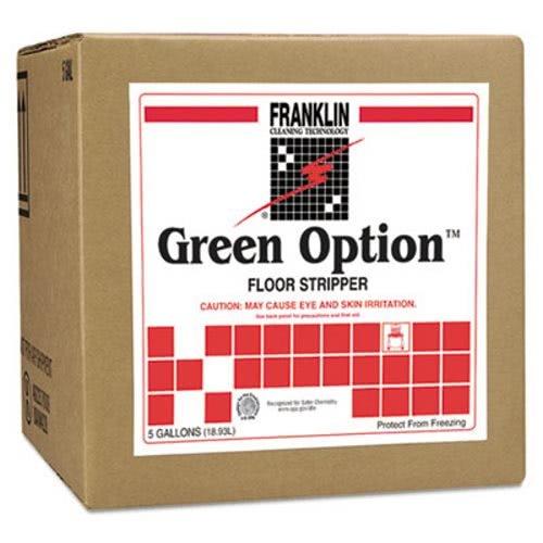 Franklin Cleaning Technology F219025 Green Option Floor Stripper, Liquid, 5 Gallon -