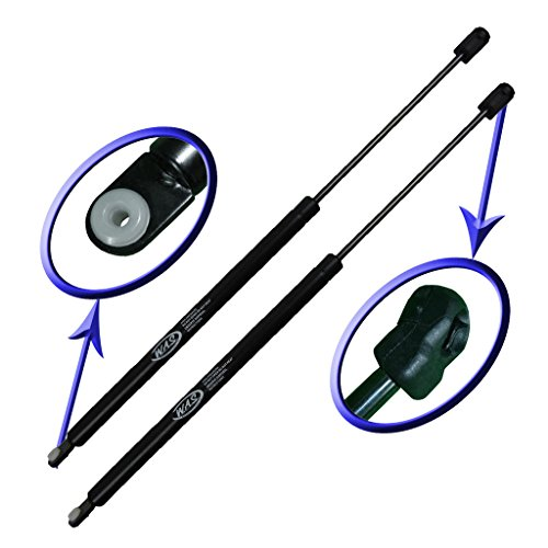 (Two Rear Glass Gas Charged Lift Supports For Back Window On Hatch 1996-2005 Ford Taurus Wagon, 1996-2005 Mercury Sable Wagon. Left or Right Side. WGS-141-2)