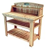 Suncast PT4500 Cedar Potting Bench
