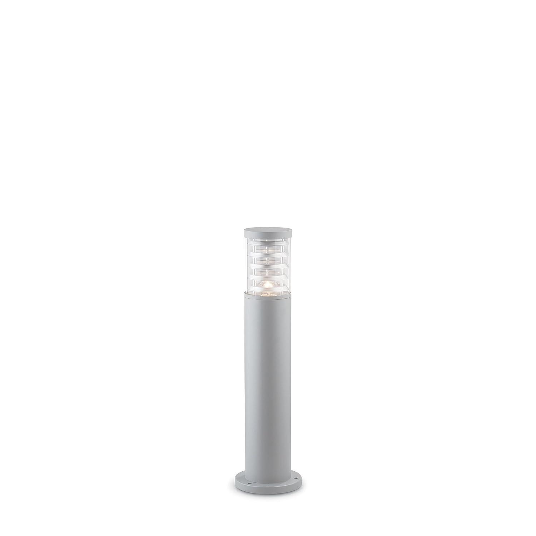 IDEAL LUX lampada da terra TRONCO luce bianca montatura grigio in alluminio PT1 SMALL GRIGIO