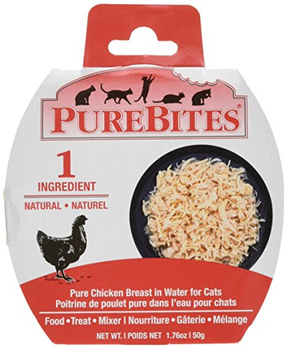 Purebites 1Pbcw50Pofr12 Chicken Breast in Water Whole Cat Food