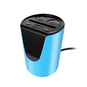 WINOMO Cargador Mechero Doble USB Cargador coche universal ...