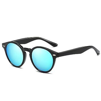 fish Coolsir Ronda Marco en Forma de Gafas de Sol polarizadas PC Protección UV400 Hombres Mujeres