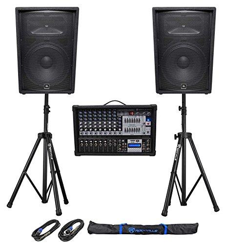 (2) JBL Pro JRX215 15
