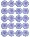 MODFREAKZ™ Xbox 360 One Wii PS3 PS4 Thumb Stick Grips 10 Pairs (20, Clear)