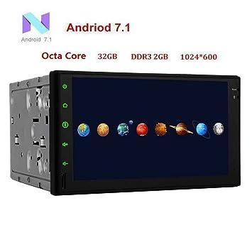 Navegación GPS para coche estéreo Doble Din Bluetooth HD ...