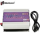 iMeshbean 500w Solar Power Grid Tie Inverter Converter 22-60v Dc to 90v-130v Ac 92% Efficiency USA