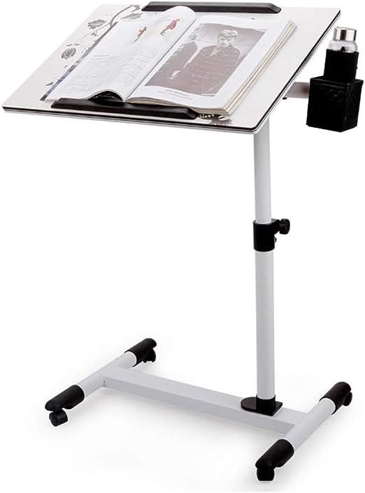Wz Mesa De Ordenador para Cama, Regulable En Altura Escritorio De ...