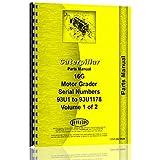 Caterpillar 16G Grader Parts Manual