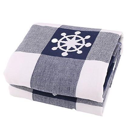 eDealMax mezclas de algodón a Cuadros Imprimir Familiar Actividades toalla de baño Ducha Falda del Abrigo