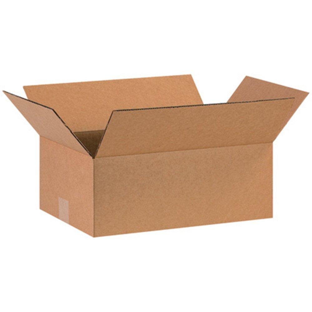 Aviditi 16106 Corrugated Box, 16'' Length x 10'' Width x 6'' Height, Kraft (Bundle of 25) (4 X Pack of 25)