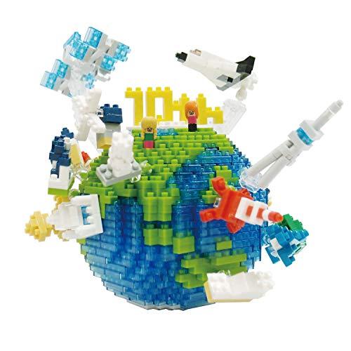 [해외]나노 블록 지구 NBM-028 / Nanoblock Earth NBM-028