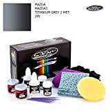 Mazda MAZDA3 / Titanium Grey 2 MET - 29Y / Color N Drive Touch UP Paint System for Paint Chips and Scratches/PRO Pack
