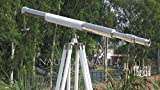 Vintage Single Barrel 40'' Telescope with Tripod Stand - NauticalMart