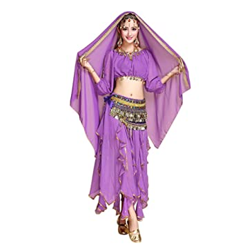 Daytwork Danza Ropa Mujer Vestidos - India Traje Elegante ...