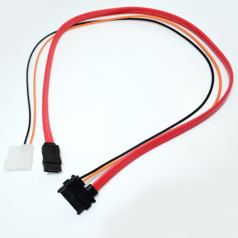 Slimline Sata Cable 13pin Female To With Ata Connector 6 Pin Power Electronics