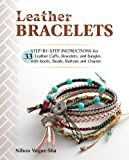 Best Bracelet Jewelries - Leather Bracelets: Step-by-step instructions for 33 leather cuffs Review