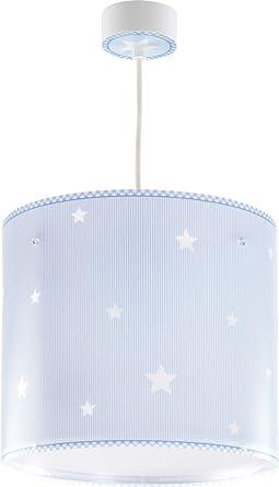Sterne Hängeleuchte 62012T blau Lampe Kinderzimmer Leuchte ...