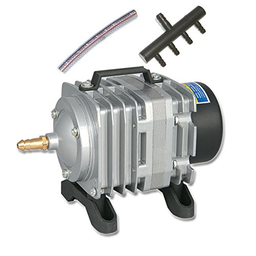 18W RESUN ACO-001 Mini Electromagnetic Air Compressor for Aquarium Fish Tank Hydroponics Air Aerator Oxygen Pump