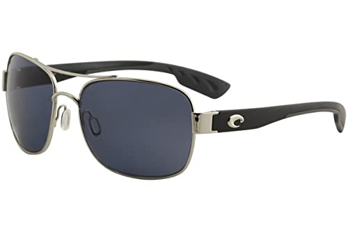 b2496bf95555 Amazon.com : Costa Del Mar Cocos Polarized Sunglass, Palladium, Gray  580Plastic : Shoes