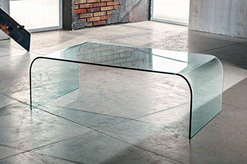 Tisch Couchtisch MODERN FACTORY auf großen Rädern weiß