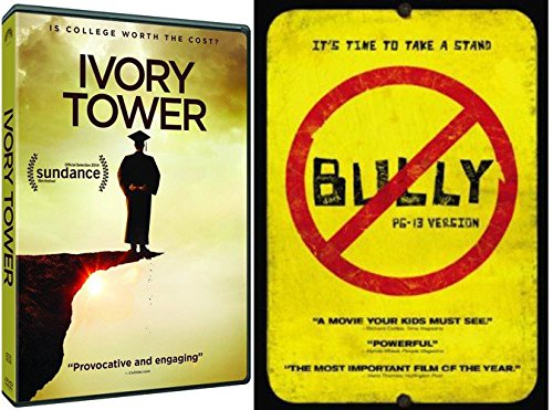 (School Documentary Bully High School Take A stand + College Ivory Tower is it Worth the Cost? Double Feature 2-Pack Bundle)