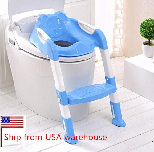 Careshine Potty Seat with Ladder Kid Potty Trainning Toilet Seat with Step Mommy's Helper