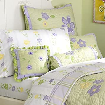 Amazon.com : Pottery Barn Kids Emily Quilted Bedding : Nursery ...