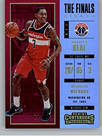 2017-18 Panini Contenders The Finals Ticket  90 Bradley Beal SER 99 Wizards 69be85c78