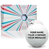 ball customized - Callaway Golf Supersoft Personalized Golf Balls