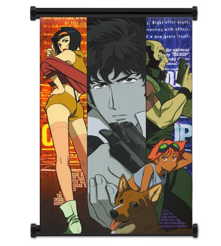 Cowboy Bebop Anime Fabric Wall Scroll Poster  Inches