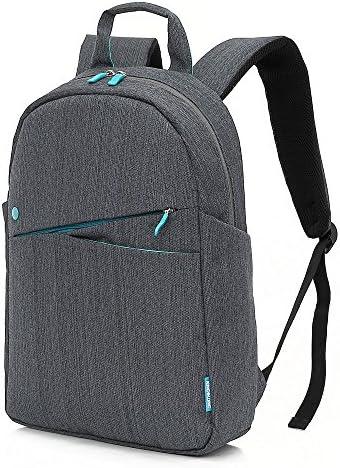 KINGSLONG Campus Backpack Women Men Lightweight Laptop Backpack 15.6 Inch Slim