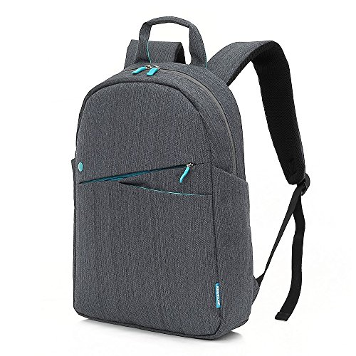KINGSLONG Slim Laptop Backpack Women Men 15.6 Inch, Blue