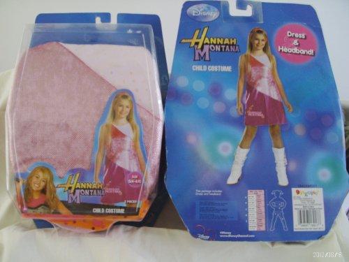 Hannah Montana Child Costume 2 Pieces Size S(4-6x)