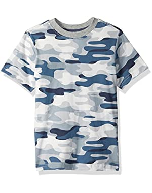 Baby Toddler Boys' Short Sleeve Printed Tee