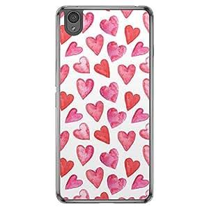Loud Universe OnePlus X Love Valentine Printing Files Valentine 51 Printed Transparent Edge Case - Multi Color