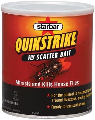 Farnam maison et jardin 3006231 StarBar Quik Strike Fly Scatter Appât 1-Livre
